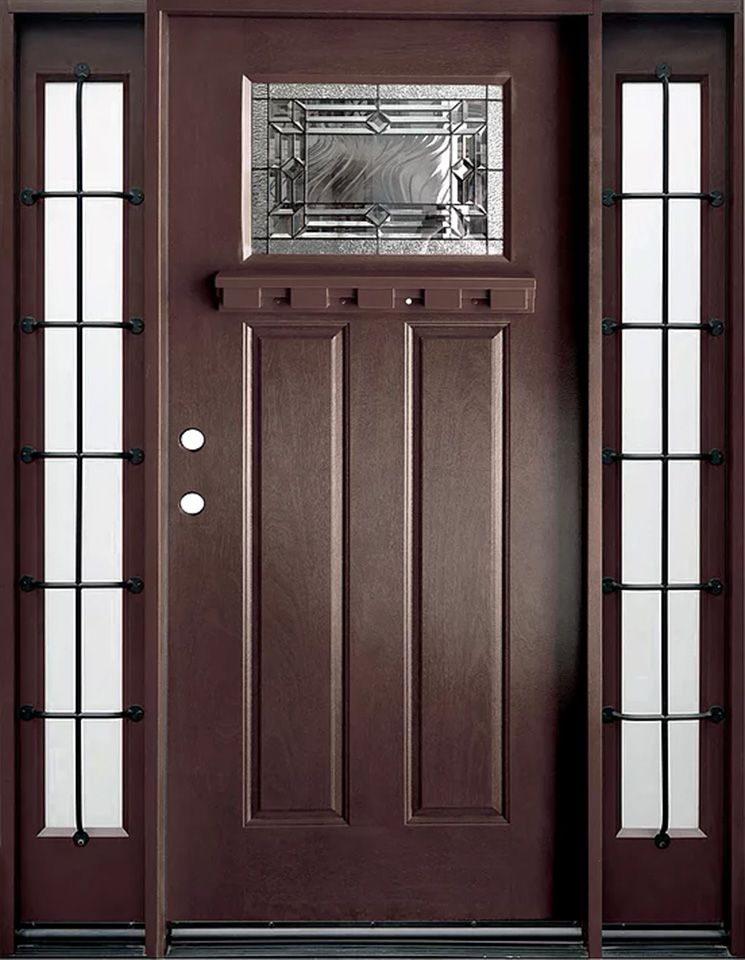 Arts And Crafts Fiberglass 3 0 Entry Door By Products Direct Camed