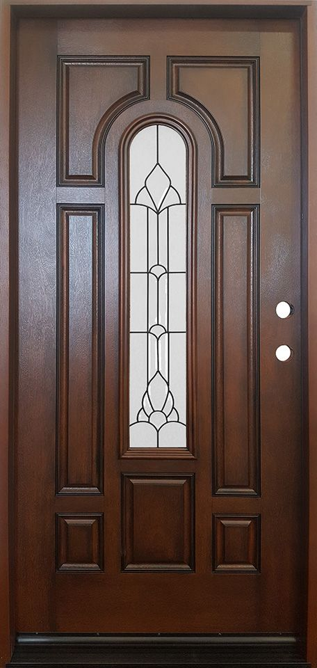 Athens Fiberglass 3 0 Entry Door By Products Direct Camed Beveled
