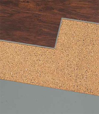 Hush II Noise Reduction Underlayment By Shaw Flooring At ProductsDirect - Noise cancelling flooring