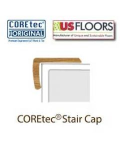 "Rocky Mountain Oak Stair Cap Molding, from the COREtec 5"" Collection by US Floors"
