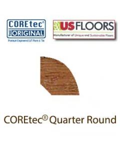 "Carolina Pine Quarter Round Molding for 50LVP501 | Carolina Pine COREtec 5"" Collection by US Floors"
