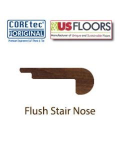 Flush Stair Nose Molding | 50LVP609 | Montrose Oak COREtec XL Collection by US Floors®