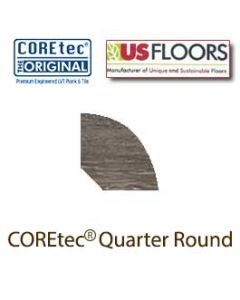 "Alabaster Oak Quarter Round Molding for 50LVP706 | Alabaster Oak COREtec 7"" Collection by US Floors"