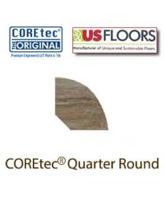 "Blackstone Oak Quarter Round Molding for 50LVP707 | Blackstone Oak COREtec 7"" Collection by US Floors"