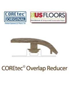 "Blackstone Oak Overlap Reducer Molding for 50LVP707 | Blackstone Oak COREtec 7"" Collection by US Floors"