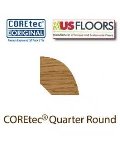 Quarter Round Molding for 50LVP803 Peruvian Walnut by US Floors®.