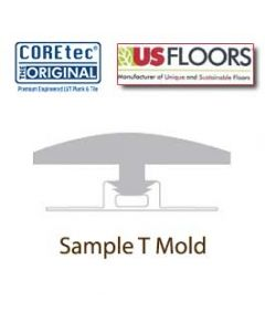 Generic T-Molding for COREtec Collection by US Floors