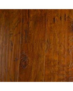 "Rustic Toffee 6.5"" Plank Laminate Floor, Valley Forge"