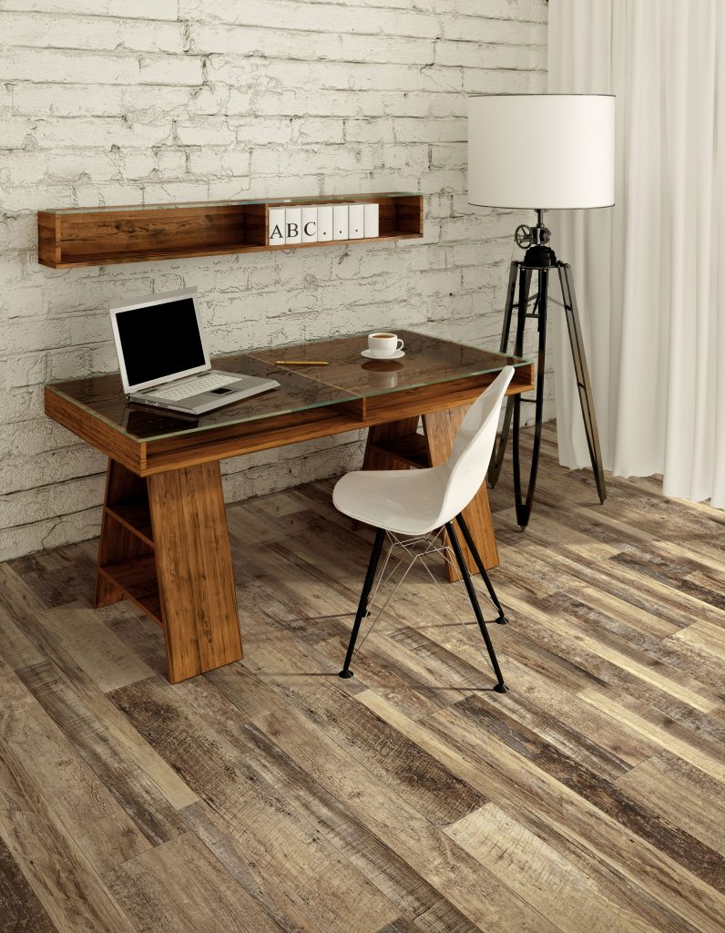 Marianas Oak floor by USFloors® from the COREtec Plus Enhanced Plank collection | SKU:50LVPE757