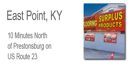 Surplus Products, East Point Kentucky