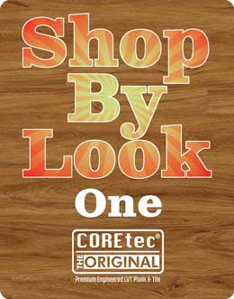 Shop by look coretec one call out